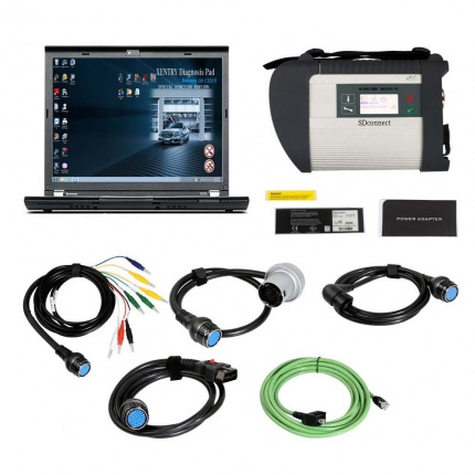 V2020.12 MB SD Connect C4 Star Diagnosis With Vediamo and DTS Engineering Software Plus Lenovo X230 Laptop