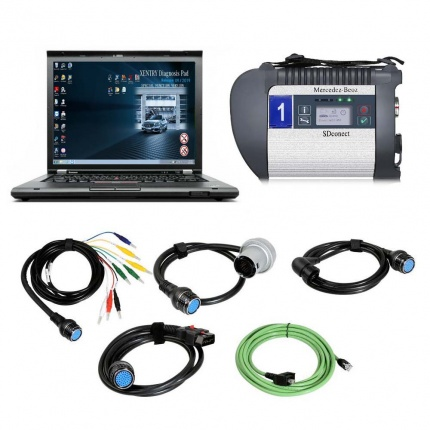 V2020.09 C4 MB SD Connect C4 Star Diagnosis Plus Lenovo T430 Laptop With Engineering Software