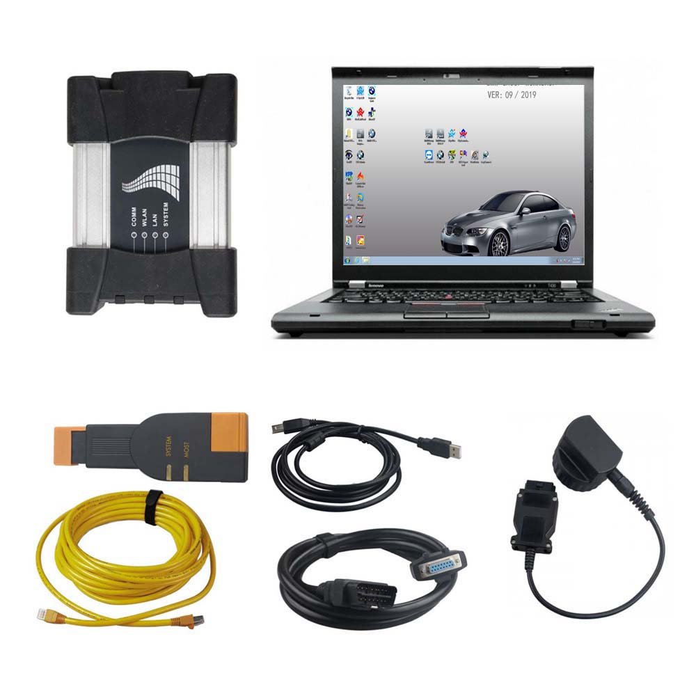 V2019.12 BMW ICOM NEXT A+B+C BMW ICOM A3+B+C BMW Diagnostic Tool Plus Lenovo T430 Laptop With Engineers Software