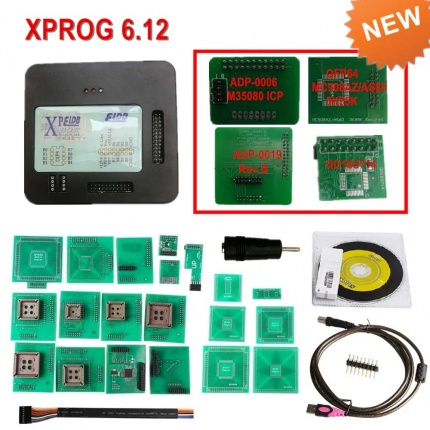 Latest Version XPROG-M V6.12 X-PROG Box Xprog ECU Programmer