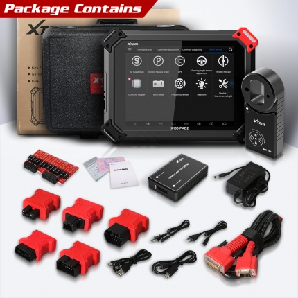 XTOOL X-100 X100 PAD2 Pro Diagnostic Tool key programmer Full Version with VW 4th 5th Immobilizer and Odometer adjustmen