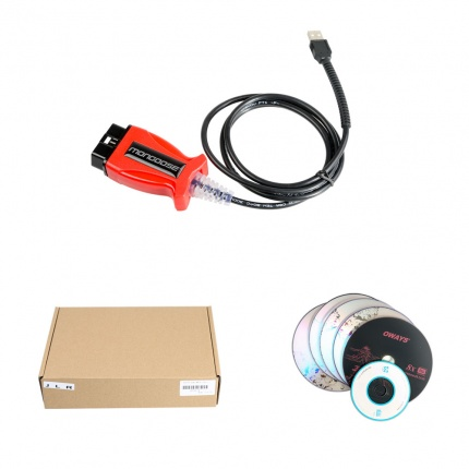 JLR Mongoose V158 for Jaguar Land Rover + 2014D Volvo VIDA+ V14.10.028 Toyota TIS 3-in-1 Scanner