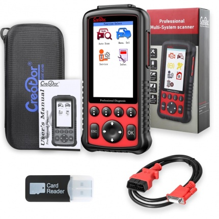 Creator C600 BMW/BENZ/VW/FIAT Car OBD2 Code Reader Auto Diagnostic Scan Tool