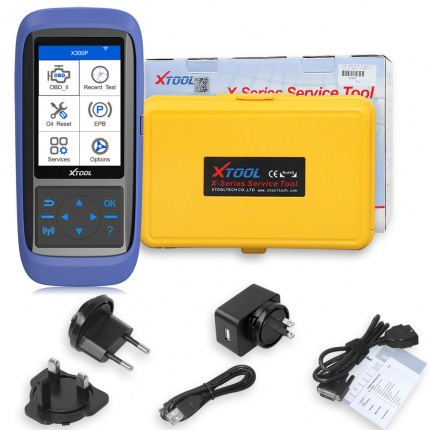 XTOOL X300P Diagnostic Tool OBD2 Car Scanner OBD Oil Reset ABS Bleeding Maintenance Light Reset Odometer Adjustment Tool