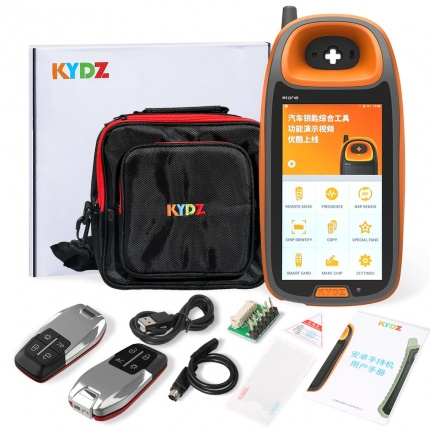 KYDZ Smart Car Remote Key Programmer Chip Generation Identification Copy Smart Card Frequency Test