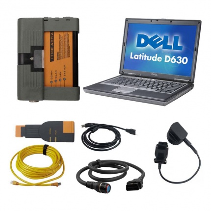 BMW ICOM A2 With V2020.08 Engineers software Plus DELL D630 Laptop Preinstalled Ready to Use