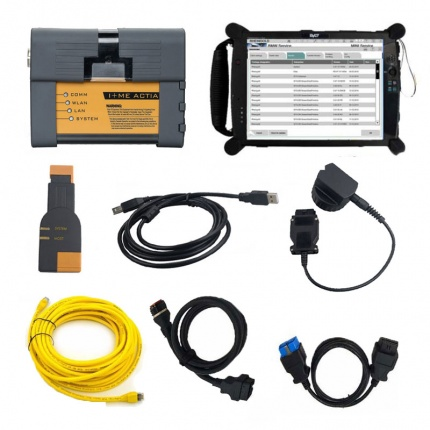 BMW ICOM A2 Diagnostic Tool With V2020.08 Engineers Software BMW Scan Tool Plus EVG7 Tablet PC Ready to Use