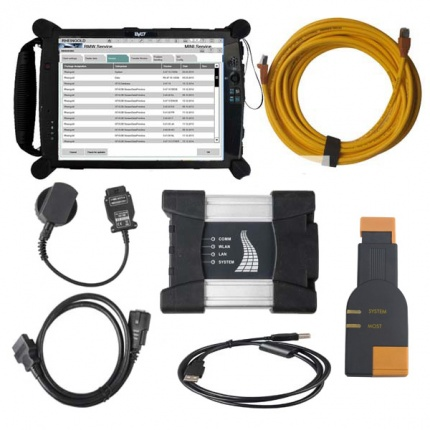 BMW ICOM NEXT A+B+C with 2020.08V Software Plus EVG7 4GB Diagnostic Controller Tablet PC