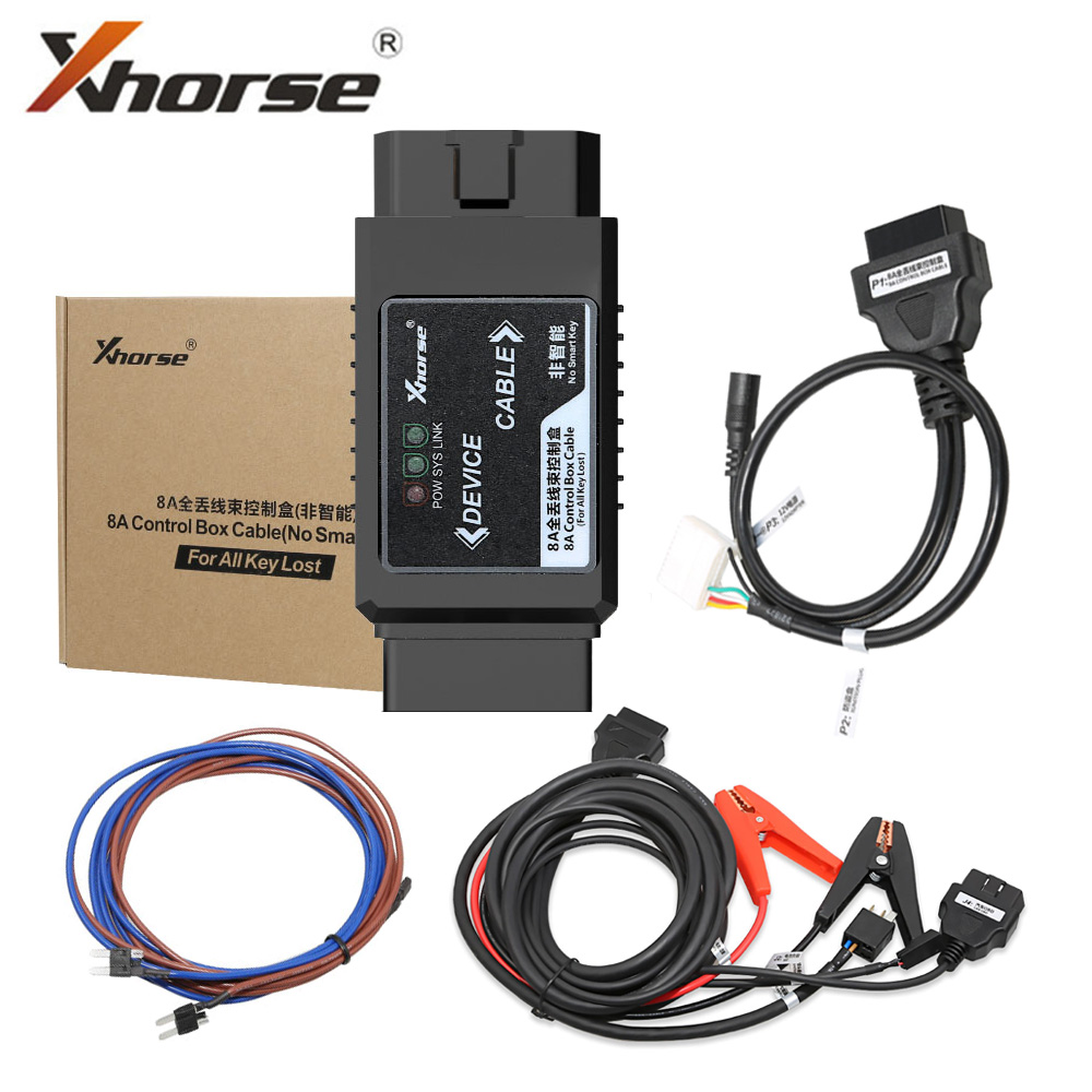 XHORSE VVDI Toyota 8A Non-smart Key Adapter for All Key Lost via OBD No Disassembly