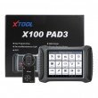 XTOOL X100 PAD3 Auto Key Programmer Support All Key Lost Odometer Adjustment OBD2 Car Diagnostic Tool with KC100