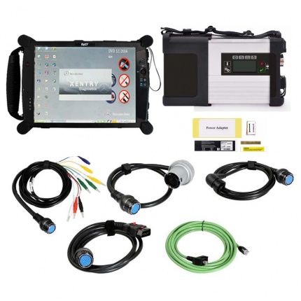 MB SD Connect Compact C5 Star Diagnosis Tool With WiFi 2020.09 Plus EVG7 Diagnostic C5 Controller Tablet PC