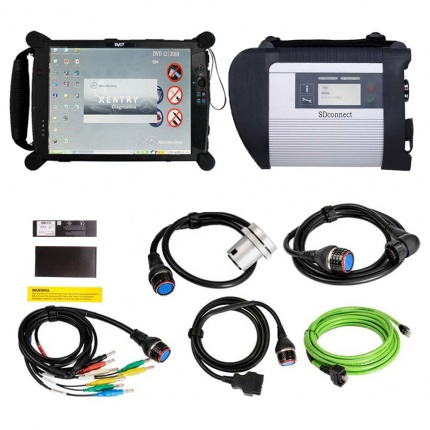 MB SD Connect 4 MB Star C4 Benz Diagnostic Tool with Super Engineering Software 2020.09 DTS Monaco & Vediamo Plus EVG7