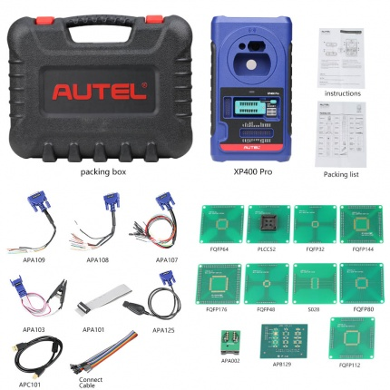 Autel XP400 PRO Key and Chip Programmer for Autel MaxiIM IM608 IM508 Key Program Tool
