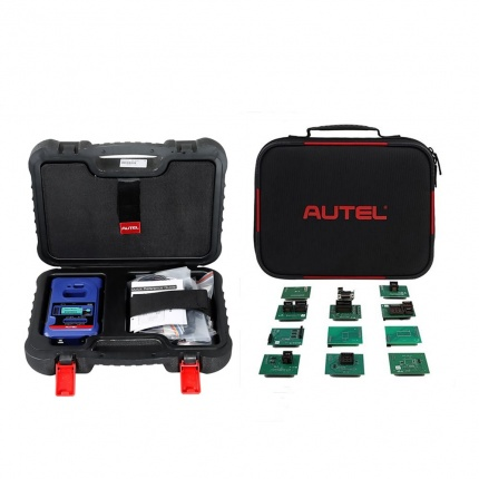 Autel XP400 PRO Key and Chip Programmer Plus IMKPA Expanded Key Programming Accessories Kit for Renew & Unlock