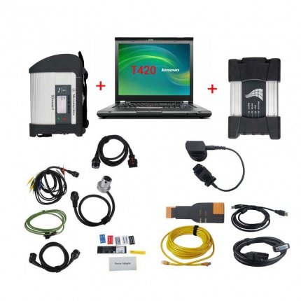 BMW ICOM NEXT + MB STAR SD C4 with Lenovo T420 Laptop BENZ BMW Software Full Set Ready to Use