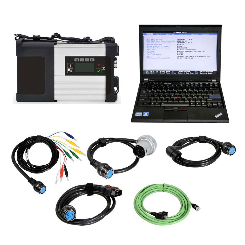 V2020.12 MB SD Connect C5 PLUS MB Star Diagnostic Tool Support DOIP Plus Lenovo X220 Laptop With Engineering Software