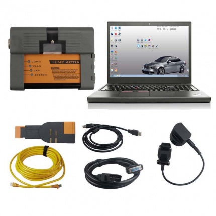 V2020.08 BMW ICOM A2+B+C BMW Programming & Diagnostic Tool With Lenovo T450 I5 8G Laptop