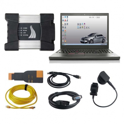 V2020.08 BMW ICOM NEXT A+B+C Diagnostic Tool with Lenovo T450 I5 8G Laptop With Engineers Software