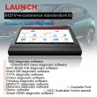 Launch X431 V+ Wifi/Bluetooth 10.1inch Tablet Diagnostic Tool Global Version Two Years Free Update Online
