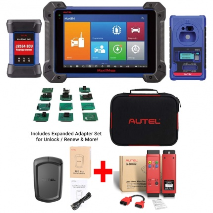 Autel MaxiIM IM608 PRO Auto Key Programmer Diagnostic Tool with APB112 & G-BOX2 & IMKPA Accessories for Renew & Unlock