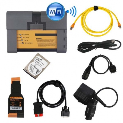 Best Quality BMW ICOM A3+B+C+D Professional Diagnostic Tool V2021.03 Engineers software with Wifi