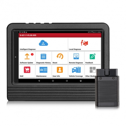 Original Launch X431 V 8inch Tablet Wifi/Bluetooth Full System 2 Years Free Update Online
