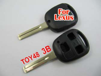 Lexus remote key shell 3 button (without the paper words)