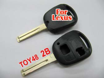 Lexus remote key shell 2 button (without the paper words)