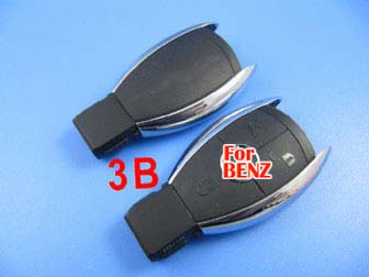 Benz smart key shell 3 button without the plastic board