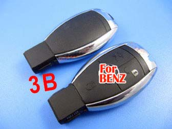 Benz smart key shell 3-button with the plastic board