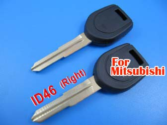 mitsubishi transponder key ID46 (with right keyblade)