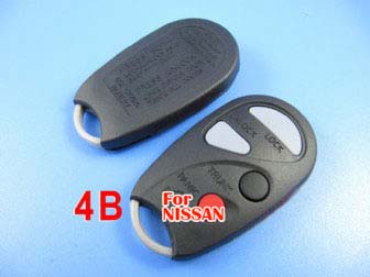 Nissan remtoe shell 4 button (backside with words)