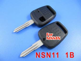 Nissan blue bird remote key shell 1 button