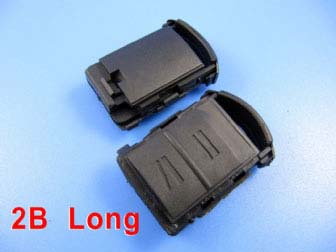Opel remote shell 2 button (long)