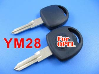 Opel transponder key ID40 (right)
