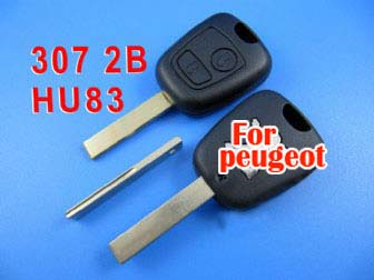 peugeot remote key 2 button434 MHZ(307 with groove)
