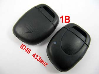 Renault remote 1 button 433MHZ with ID46