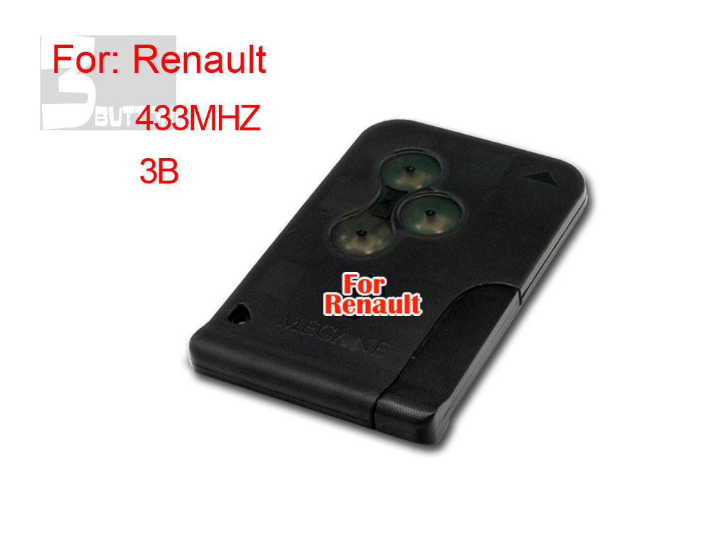 Renault 3 button smart key