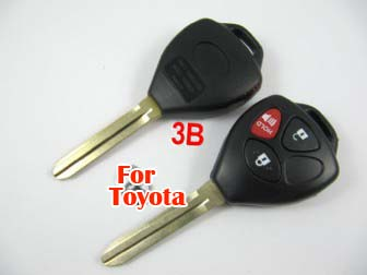 Toyota Camry remote key shell 3 button-the logo separate