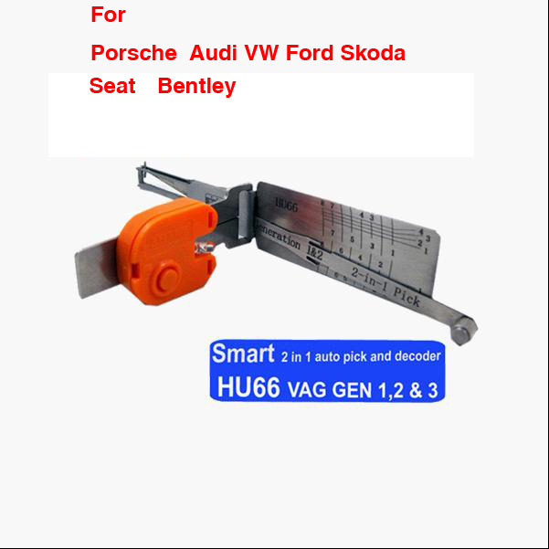 Smart HU66 2 in1 auto pick and decoder For VW