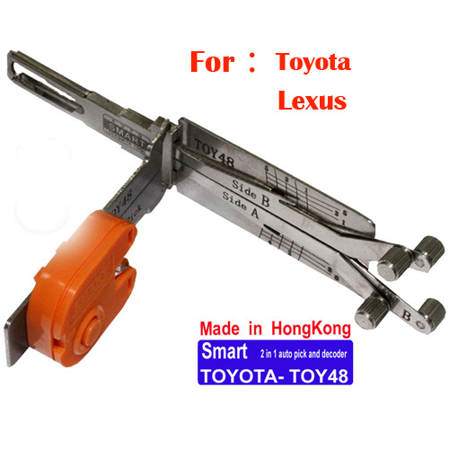 Smart TOY48 2 in 1 auto pick and decoder for Toyota