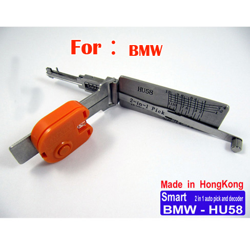 Smart HU58 2 in 1 auto pick and decoder for BMW