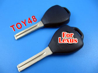 lexus 4D duplicable key shell toy48 (short) with groove