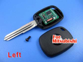 mitsubishi 4D duplicable key with left