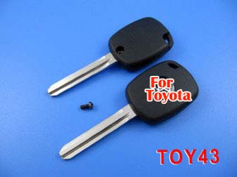 toyota 4D duplicable key toy43