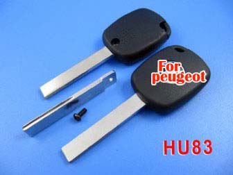 peugeot 307 4D duplicable key with groove