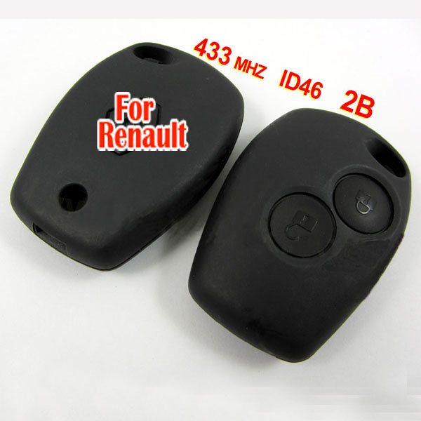 renault remote 2 button 433MHZ