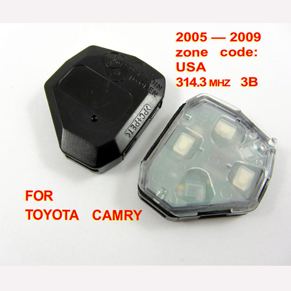 Toyota camry remote 3 button 314.3MHZ (2005-2009)