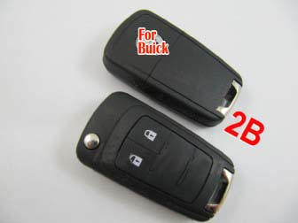 Buick modified remote flip key shell 2 button