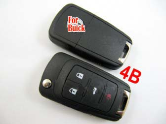 Buick modified remote flip key shell 4 button